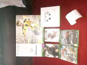 Xbox one S 500GB bundle with Fifa 17, Ryse, Forza 5, Sunset Overdrive and Rare Replay £219.99 @ Game - East Kilbride
