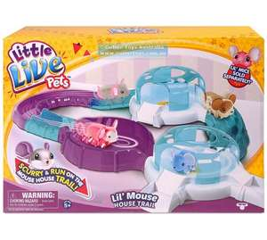 Little Live Pets L'il Mouse Deluxe Play Trail Was £29.99 now £9.99 @ Argos