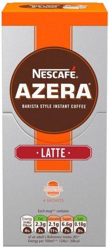 NESCAFE Azera Cappuccino / Latte Coffee 6 Sachets (6 x 16g) Half Price was £2.99 now £1.49 @ Waitrose