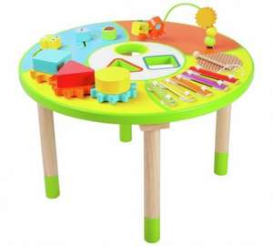 Chad valley wooden activity table now £19.99 @ Argos free c&c