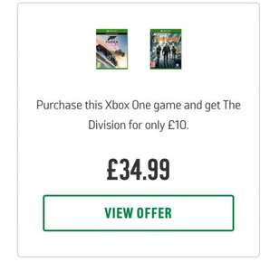 Forza Horizon 3 + The Division £34.99 @ Argos