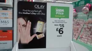 Olay Total Effects eye cream 15ml at Asda - less than half price - reduced  from £15 to £6! @ Asda
