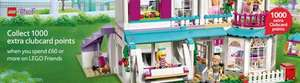 1000 extra Clubcard points when you spend £60 + on LEGO Friends @ Tesco Direct