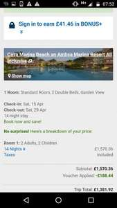 Easter Family 2 Weeks to Dominican Republic 15-29 April £649.76pp @ Ebookers