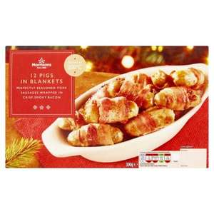 12 Pigs in Blankets Was £2 Now 50p @ Morrisons Online/Instore.