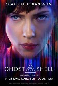 Free tickets to Ghost in the Shell Exhibition  - London only by SFF - Fri   24/03/17