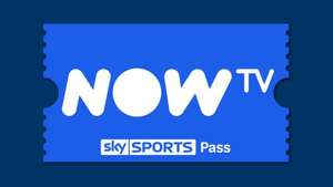 50% off Sky Sports Month Pass + 30 day Entertainment free trial £16.99 @ Now tv
