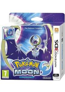 Pokemon Moon or Sun Steelbook Fan Edition 3DS £29.85 @ Simply Games