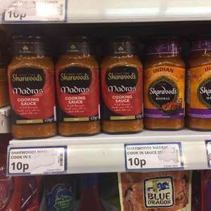 Sharwoods Curry sauces, 10p at Poundstretcher