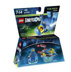 LEGO DIMENSIONS LEGO Movie Benny Fun Pack £6.97 Delivered @ Currys & PC World (Amazon Prime)