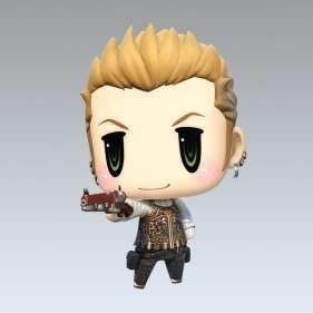 WORLD OF FINAL FANTASY - Balthier (FREE Download- PS4/PS Vita)