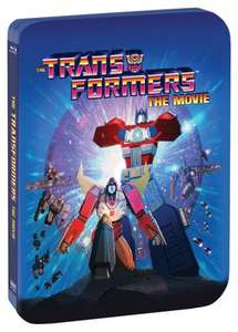 Transformers - The Movie (Steel Book with UltraViolet Copy (30th Anniversary) [Blu-ray] - £11.70 delivered with code - Zoom.co.uk