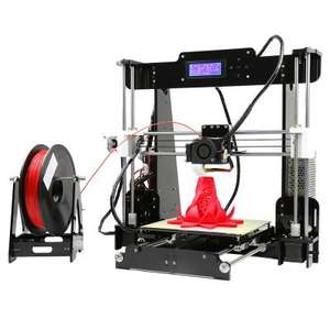 Anet A8 Desktop 3D Printer Prusa i3 DIY Kit  -  EU PLUG  BLACK - £132 @ GearBest (Now £130.50 using code)