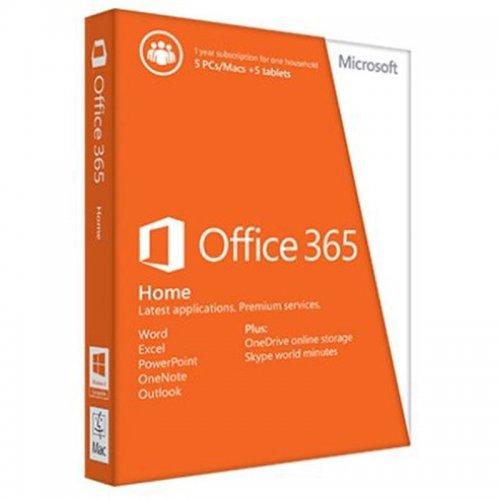 Microsoft Office 365 Home Premium Subscription Licence 1Yr Upto 5 Pcs 32/64 Bit £54 @ Tesco / ebay