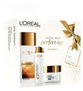 L'oreal Age Perfect Mother's Day coffret with 3 full size products worth £30 now £15 free next day click & collect @ Boots