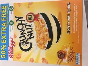 750g crunchy nut cornflakes (dated october 17) £1 at poundland