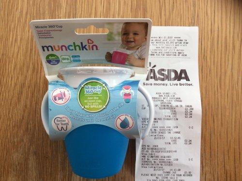 Munchkin miracle 360 cup - £2.24 instore @ Asda