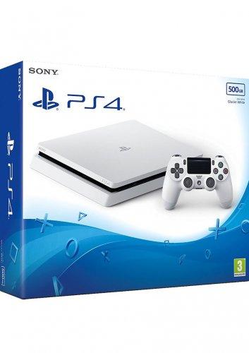 PS4 500GB Console - Glacier White  £189.99  simplygames