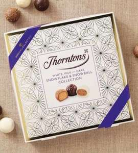 THORNTONS Snowflakes & Snowballs Collection (160g) £7 @ Thornton £1.25 @ HERON