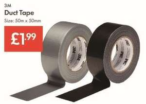 Universal Duct Tape 3M - 50mm X 50m - £1.99 LIDL Instore