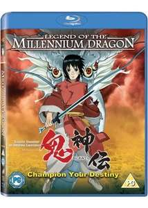 Legend of the Millennium Dragon [Onigamiden ] Anime (Blu-Ray) £3.79 delivered @ Base
