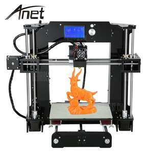 Anet A6 3D Desktop Printer Kit  -  UK PLUG  BLACK