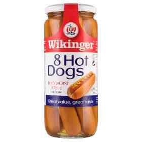 Wikinger Bockwurst style Hot Dogs (large size) £1 - Asda