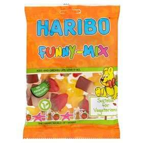 Haribo Funny-Mix Sweets Bag 75p at Asda