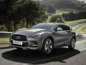 Infinity Q30 1.5d SE Car Leasing 8000 miles per year £4553.70 nationwidevehiclecontracts