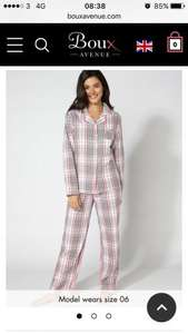 Boux avenue pyjamas in a bag £10 free delivery to store or to rymans