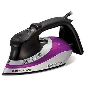 Morphy Richards 301015 ComfiGrip Iron 2600w Steam Iron - 3yr Guarantee £25.79 @ eBay/4indoors