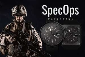 SpecOps - Watch Face - Free (was £0.82) @ Google Play Store