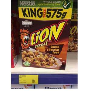 Nestle Lion Cereal 575g 10p in B&M