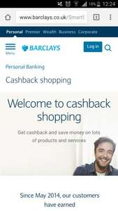 Barclays offer cashback on selected retailers