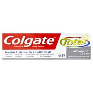 3 x 25ml Colgate Toothpaste for £2.50 @ Wilko