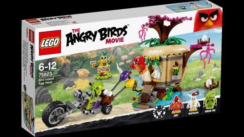 Lego Angry Birds 75823 Bird Island Egg Heist RRP £39.99 - £17.99 @ Tesco