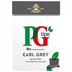 PG tips earl grey 80 bags just 25p rrp £1 @ poundstretcher
