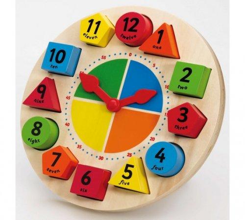 Tildo Sorting and Teaching Clock - was £17.99 now £8.99 @ Argos (C&C)
