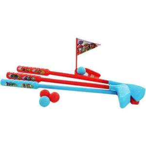 Paw Patrol golf set £2.80 with code MVC20 @the works online free c&c