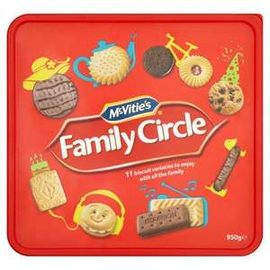McVitie's Family Circle 950g in Iceland - £2.50