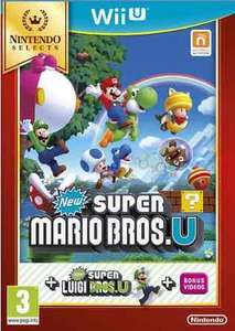 New Super Mario Bros. U + New Super Luigi U Selects (Wii U) £14 Delivered @ Tesco
