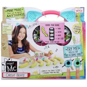 (OOS) Project MC2 Circuit Beats Music Maker £4.99 Delivered @Argos ebay (£29.99 Toys r us)
