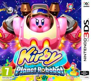 Kirby Planet Robobot 3DS £19.99 @ Tesco Direct
