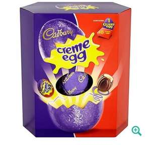 Cadburys Creme Giant Egg 497g @Debenhams now £7 was £14