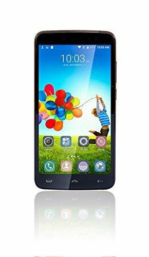 "5.5"" Fusion5 Gen II Dual Sim-Free Unlocked 4G Android Mobile Phone 6.0 Lollipop Smartphone - 2GB RAM - 16GB Storage - Dual-SIM - High Res 5.5 Inch IPS Screen 1280*720 QHD - 5MP and 13MP Cameras - Fingerprint Sensor Touch Screen Smartphone"