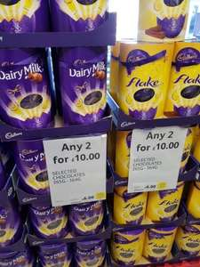 2 XL Easter Eggs for £10 @ Tesco