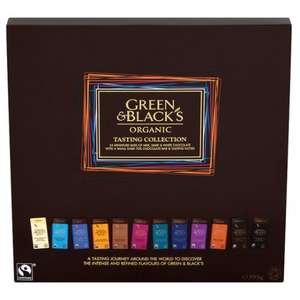 Box of green and blacks chocolate, reduced to clear from £11 - £2.75 instore @ Tesco (Leeds)