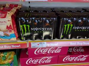 8 cans of Monster £3.99 at Cool Trader