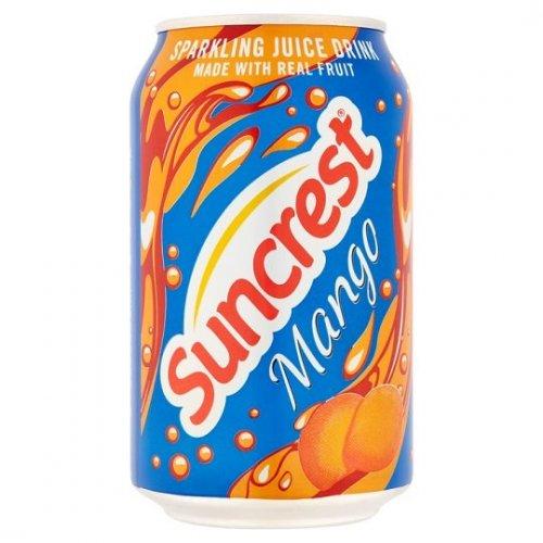 Suncrest Sparkling Mango 330ml Cans 20p @ Poundstretcher