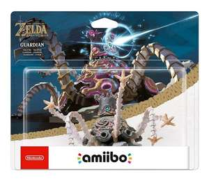 Guardian amiibo - The Legend OF Zelda: Breath of the Wild Collection (Nintendo Wii U/Nintendo 3DS/Nintendo Switch) - £16.99 (Prime) £18.98 (Non Prime) @ Amazon